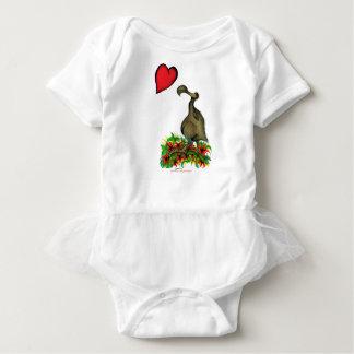 tony fernandes's love dodo baby bodysuit