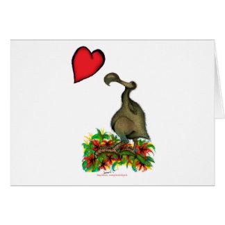tony fernandes's love dodo card