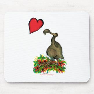 tony fernandes's love dodo mouse pad