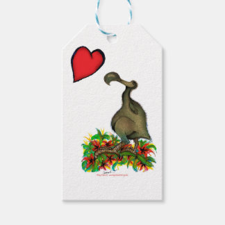 tony fernandes's love dodo pack of gift tags