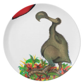 tony fernandes's love dodo plate