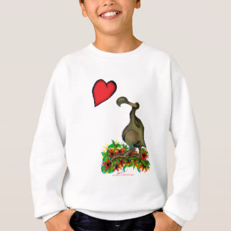 tony fernandes's love dodo sweatshirt