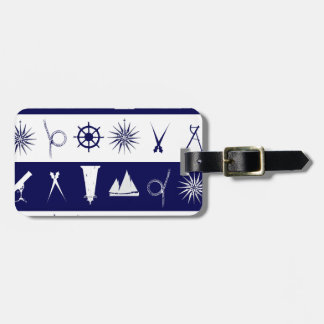 tony fernandes's nautical 2a luggage tag