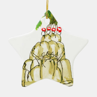 tony fernandes's parsnip jello cat ceramic ornament