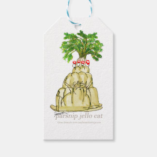 tony fernandes's parsnip jello cat gift tags