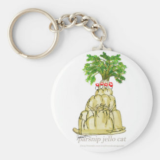 tony fernandes's parsnip jello cat keychain