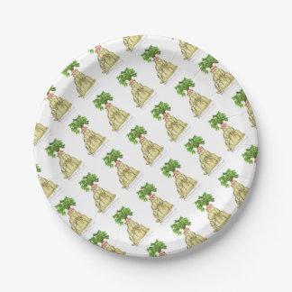 tony fernandes's parsnip jello cat paper plate