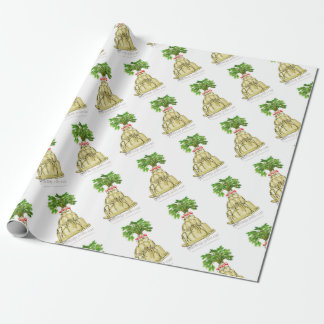 tony fernandes's parsnip jello cat wrapping paper