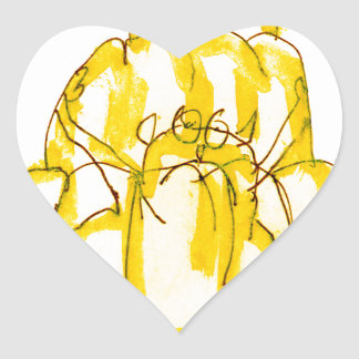 tony fernandes's quince jello cat heart sticker