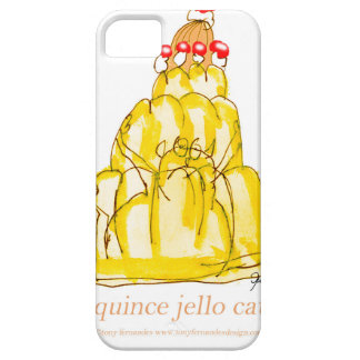 tony fernandes's quince jello cat iPhone 5 case
