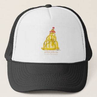 tony fernandes's quince jello cat trucker hat