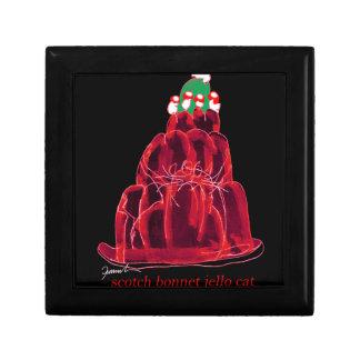 tony fernandes's scotch bonnet jello cat gift box