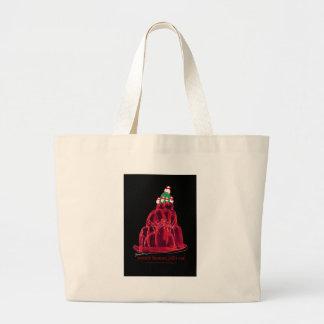 tony fernandes's scotch bonnet jello cat large tote bag