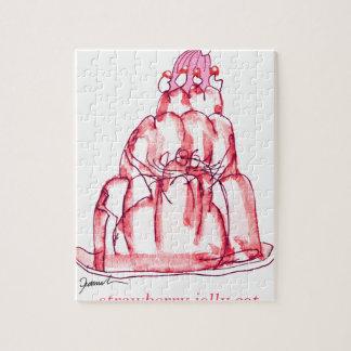 tony fernandes's strawberry jelly cat jigsaw puzzle