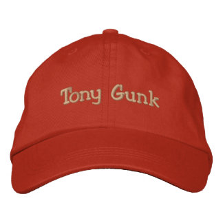 Tony Gunk Embroidered Baseball Cap