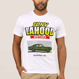 Tony Lahood Motors tshirt