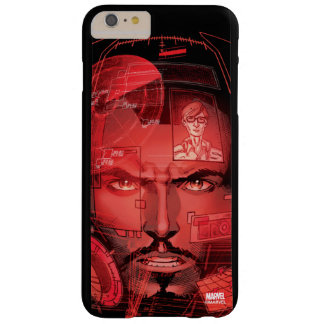 Tony Stark In Iron Man Suit Barely There iPhone 6 Plus Case