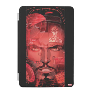Tony Stark In Iron Man Suit iPad Mini Cover