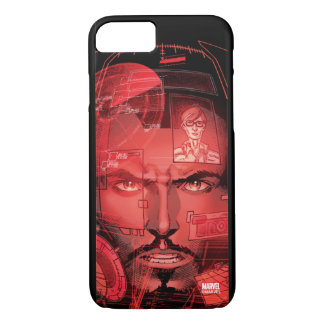 Tony Stark In Iron Man Suit iPhone 7 Case