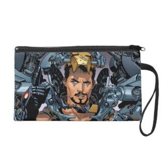 Tony Stark Removing Iron Man Suit Wristlet Purses
