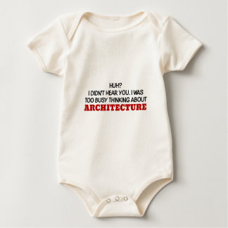 Too Busy Thinking About Architecture Baby Bodysuit