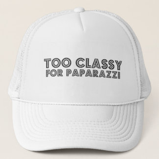 Too Classy For Paparazzi Trucker Hat