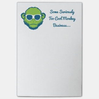 Too Cool Monkey Post-it Notes