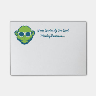 Too Cool Monkey Post-it® Notes