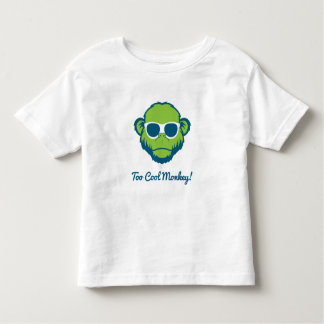 Too Cool Monkey Toddler T-shirt
