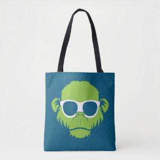 Too Cool Monkey Tote Bag