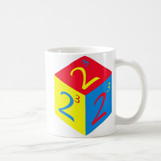 TOO CUBED OLD SCHOOL MUG