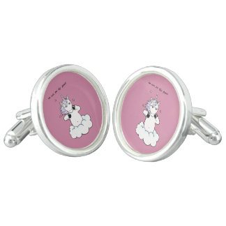 Too cute for this planet (Unicorn) Cufflinks