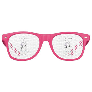 Too cute for this planet (Unicorn) Retro Sunglasses