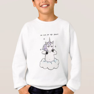 Too cute for this planet (Unicorn) Sweatshirt