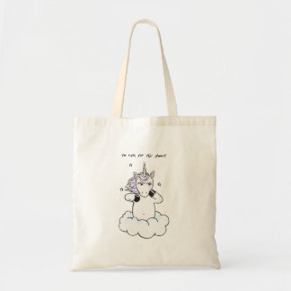 Too cute for this planet (Unicorn) Tote Bag