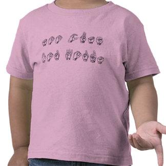 Too Cute For Words (ASL) Tees