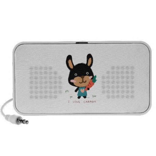too cute rabbit 노트북스피커