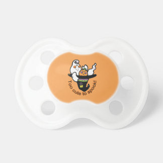 Too Cute To Spook Friendly Ghost Pacifier