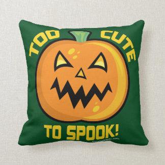 Too Cute To Spook Halloween Pumpkin Pillows