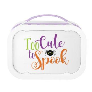 Too Cute To Spook - Yubo Lunchbox Purple