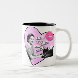 Too Cute! Two-Tone Coffee Mug