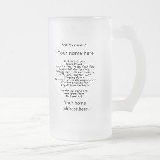 Too Drunk Mug