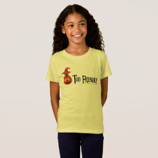 """""""Too Friendly Too Spook"""" Sphynx Halloween witch T-Shirt"""