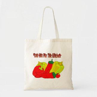 Too Hot! Budget Tote Bag