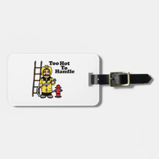 Too Hot Luggage Tag