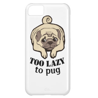 Too lazy to pug iPhone 5C cases