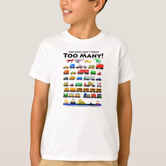 Too Many! (Black lettering) T-Shirt