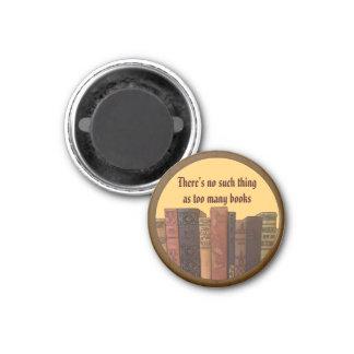 too many books art magnets