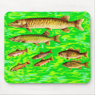 too many fish in the sea mouse pad