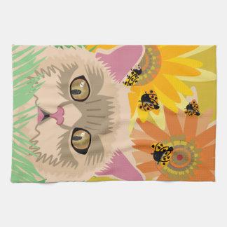 Too Many Ladybugs - Pastel Kitchen Towel